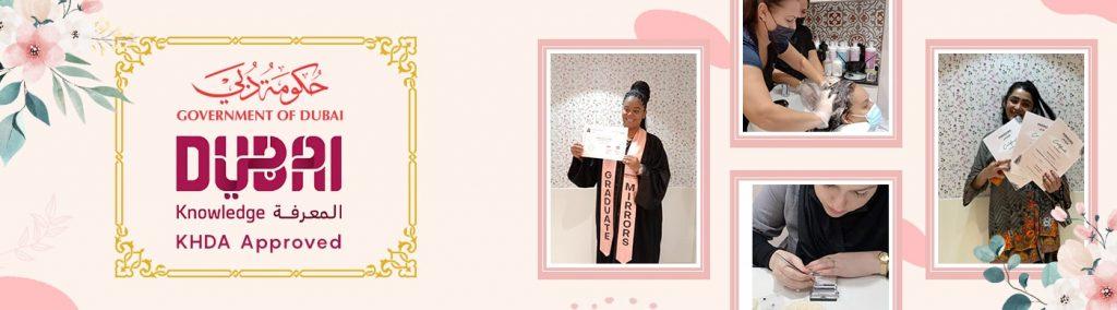 KHDA Certified beauty school in Dubai - mirrorsbeautyacademy